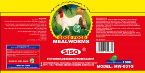 CHICKEN &BIRD MEALWORMS